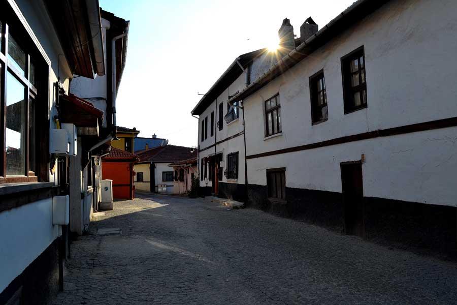 İç Anadolu Eskişehir Odunpazarı fotoğrafları - Central Anatolia Eskisehir Odunpazari historical houses photos