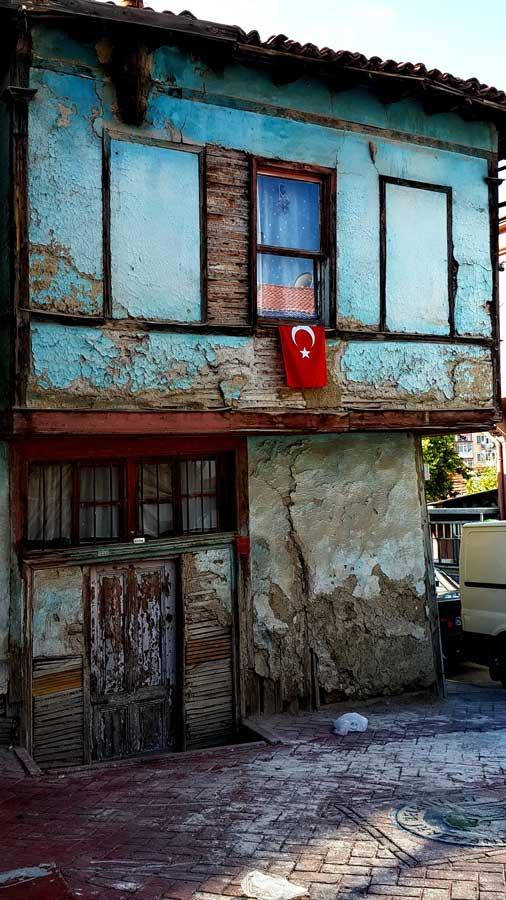 İç Anadolu Eskişehir tarihi yerler Odunpazarı evleri fotoğrafları - Central Anatolia Odunpazari historical houses photos