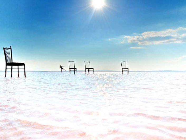 İç Anadolu Tuz gölü fotoğrafları Ankara - Salt lake Turkey