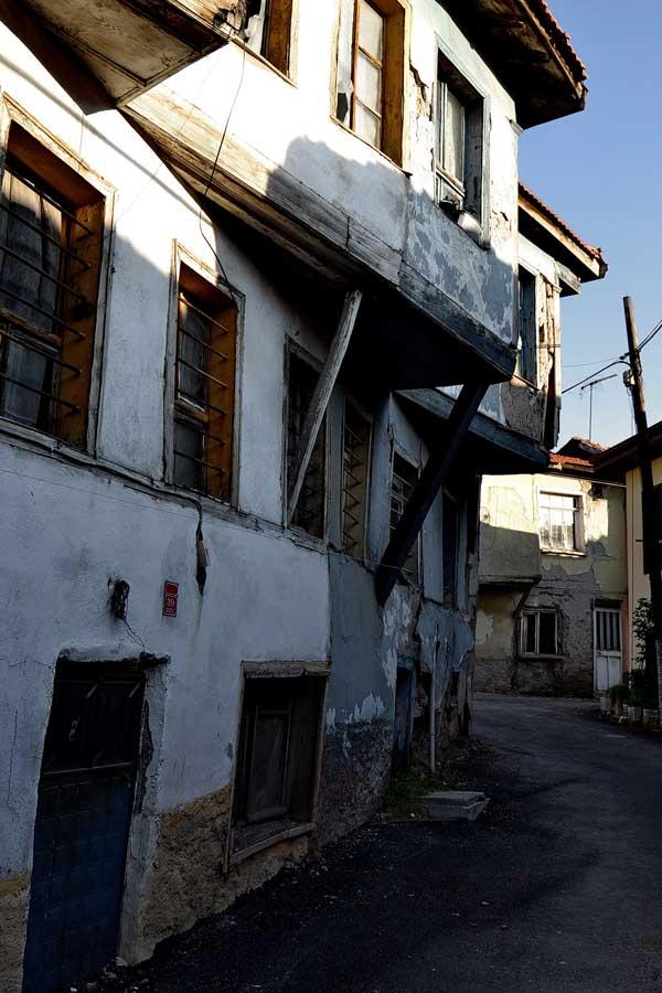 İç Anadolu gezilecek yerler Odunpazarı Eskişehir tarihi evleri fotoğrafları - Central Anatolia Odunpazari historical houses photos