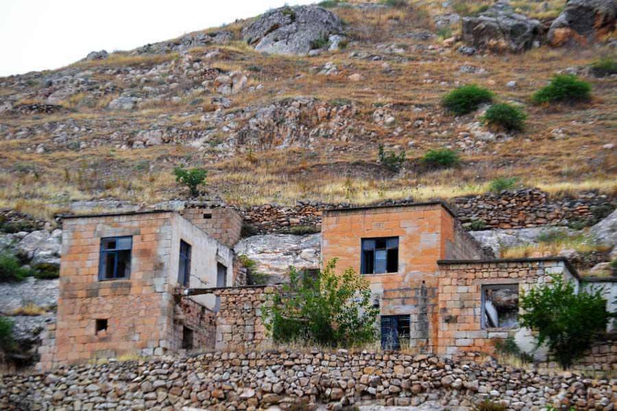 Şanlıurfa Halfeti fotoğrafları Eski Savaşan Köyü veya Belasur - Southeastern Anatolia Old Savaşan village (Belasur), Sanliurfa