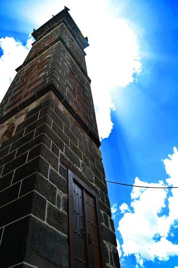 Şeyh Muhattar Cami dört ayaklı minare Diyarbakır fotoğrafları - Şeyh Muhattar Mosque with minaret with four pillars, Southeastern Anatolia Diyarbakir photos