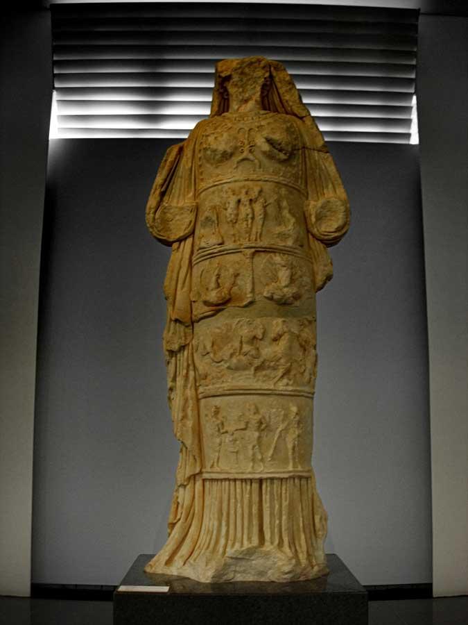 Afrodisias Antik Kenti Müzesi eserleri Afrodit heykeli fotoğrafları - Aphrodisias Museum photos, Aphrodite statue
