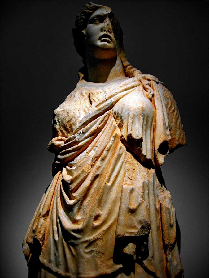 Afrodisias Antik Kenti Müzesi fotoğrafları Afrodit heykeli - Statue of Aphrodite, Aphrodisias Museum photos