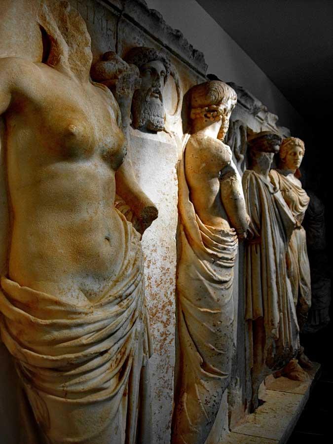 Afrodisias Müzesi eserleri, Afrodisias antik kenti fotoğrafları - from Aphrodisias Museum, Aphrodisias ancient city photos