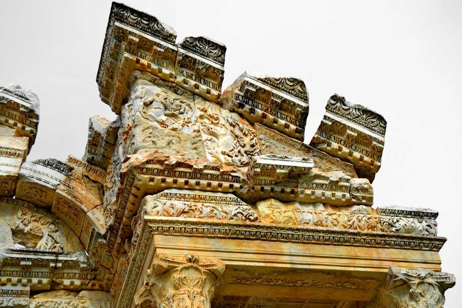 Afrodisias Tetrapylon fotoğrafları - Tetrapylon, Aphrodisias ancient city photos