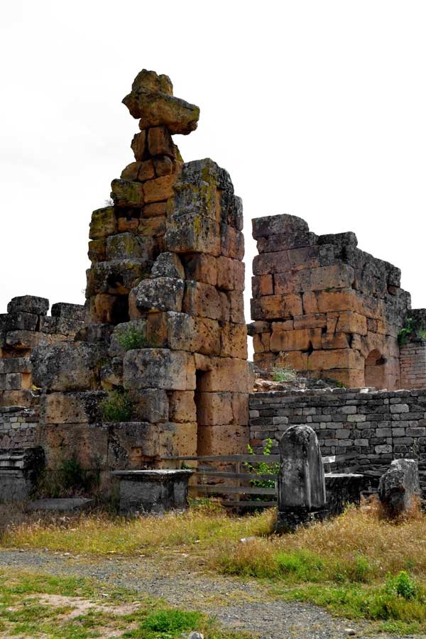 Afrodisias antik kenti Hadrian hamamları, Afrodisias fotoğrafları - Hadrian Baths, Aphrodisias photos