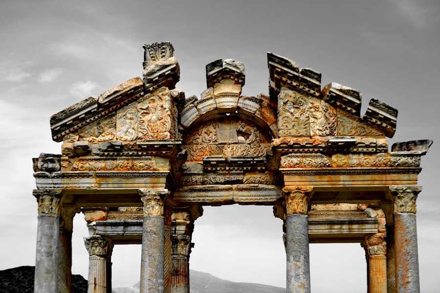 Afrodisias antik kenti Tetrapylon fotoğrafları - Tetrapylon, Aphrodisias ancient city photos