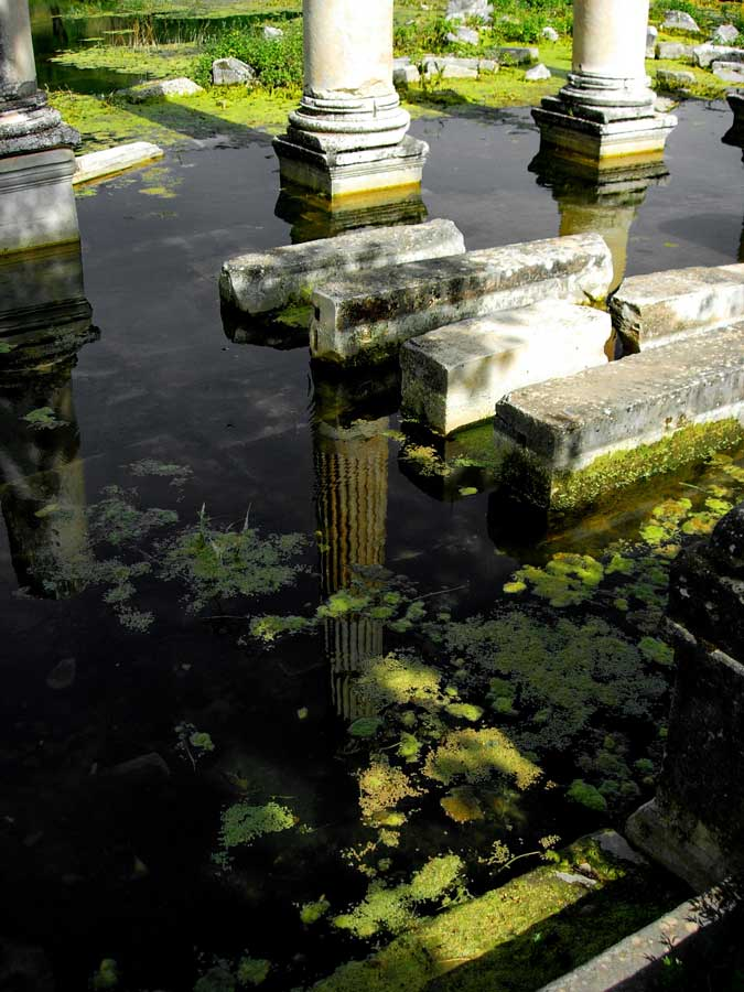 Afrodisias antik kenti Tiberius Portikosu, Afrodisias fotoğrafları - Tiberius Portico, Aphrodisias ancient city photos