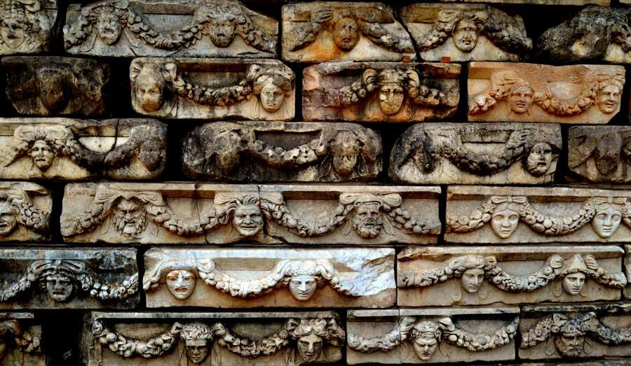 Afrodisias antik kenti tarihi eserleri, Afrodisias fotoğrafları - Historical artifacts, Aphrodisias ancient city photos