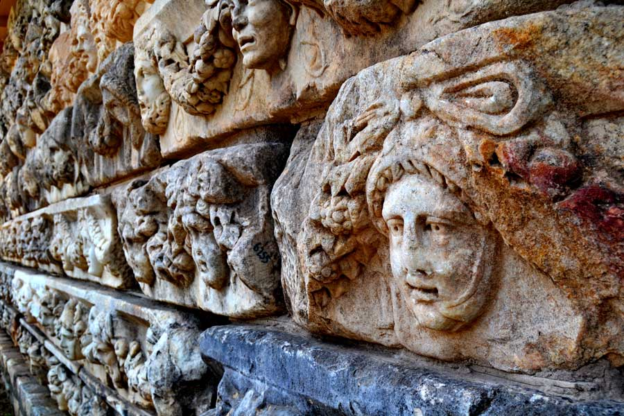 Afrodisias antik kenti tarihi eserleri, Afrodisias fotoğrafları - Historical artifacts, Aphrodisias photos