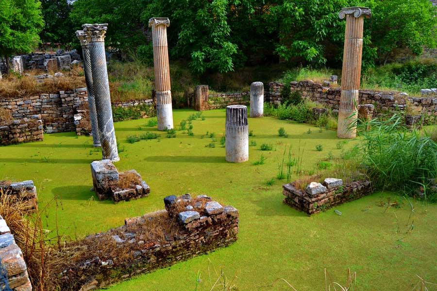 Afrodisias heykeltraşların atölyesi, Afrodisias antik kenti fotoğrafları - Sculptors' workshops, Aphrodisias ancient city photos