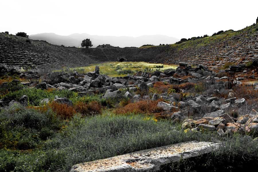 Afrodisias stadyumu, Afrodisias fotoğrafları - Aphrodisias Stadium photos