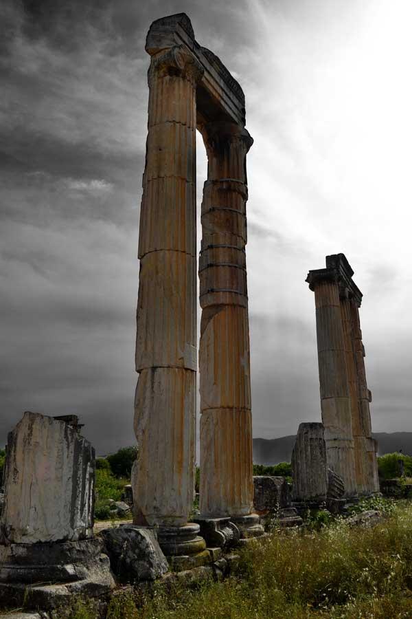 Afrodit Tapınağı Afrodisias antik kenti fotoğrafları - Aphrodite Temple, Aphrodisias ancient city photos