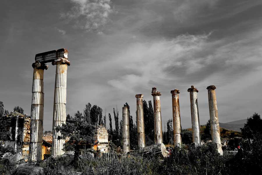 Afrodit Tapınağı fotoğrafları, Afrodisias antik kenti - Aphrodite Temple, Aphrodisias photos