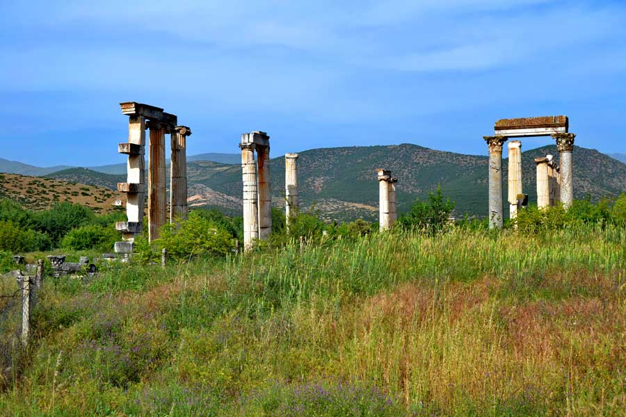 Afrodit Tapınağı kalıntıları Afrodisias antik kenti fotoğrafları - Ruins of the Aphrodite Temple, Aphrodisias ancient city photos
