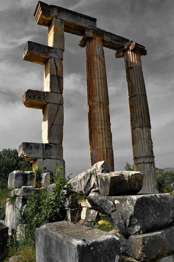 Afrodit Tapınağı kalıntıları Afrodisias fotoğrafları - Aphrodite Temple, Aphrodisias photos