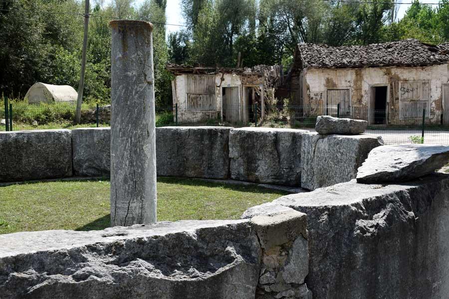 Aizanoi antik kenti dünyanın ilk gıda borsası, Çavdarhisar Kütahya - Aizanoi Macellum, Turkey