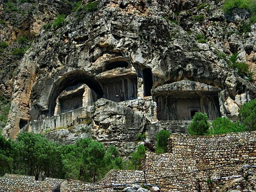 Amasya fotoğrafları Kral mezarları - King tomb, Amasya photos