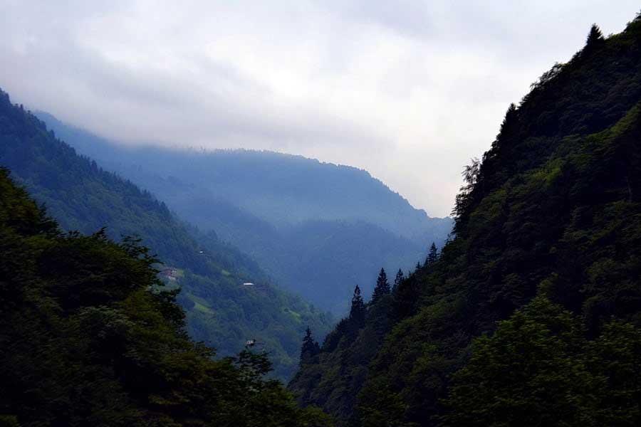 Ayder yaylası yolu manzarası, Ayder Yaylası fotoğrafları - Ayder Plateau photos