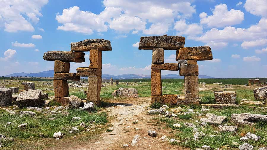 Blaundus antik kenti fotoğrafları, Ulubey Uşak - Blaundus ancient city photos, Aegean region Turkey