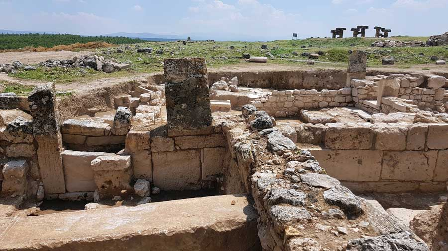 Blaundus antik kenti fotoğrafları, Ulubey Uşak - Turkey Blaundus ancient city photos Aegean region