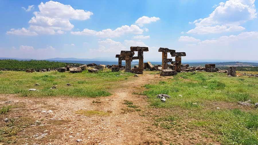 Blaundus antik kenti fotoğrafları, Ulubey Uşak - Turkey Blaundus ancient city photos Aegean region