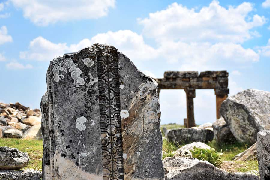 Blaundus antik kenti kalıntıları, Ulubey, Uşak Ege bölgesai - Turkey, Ruins of the Blaundus ancient city photos