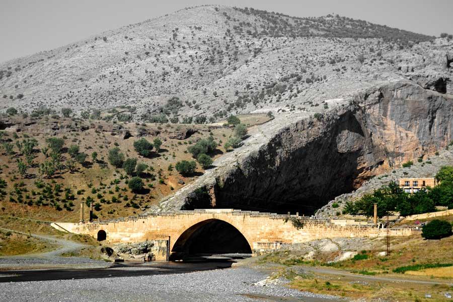 Adıyaman Nemrut Dağı Milli Parkı Cendere Köprüsü Kahta - Cendere Bridge, Turkey Mt. Nemrut National Park