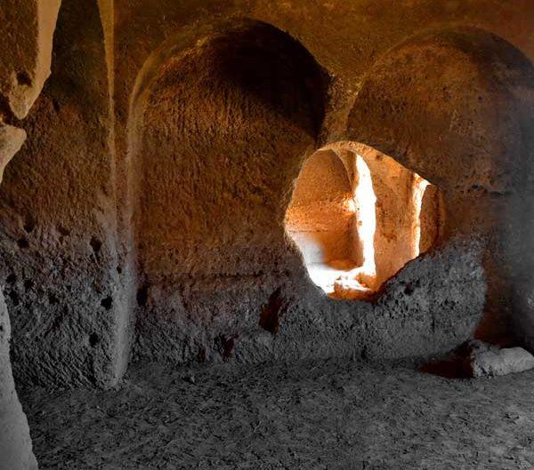Dara Antik Kenti veya Dara harabeleri kaya yerleşimleri Mardin, Dara antik kenti fotoğrafları - Ancient rock settlements, Mesopotamian Ruins of Dara photos Southeast Anatolia Region