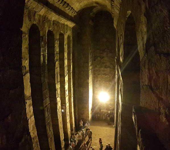 Dara Antik Kenti yeraltı su sarnıcı, Dara antik kenti fotoğrafları, Mardin - underground water cistern, Mesopotamian Ruins of Dara photos Southeast Anatolia Region Turkey