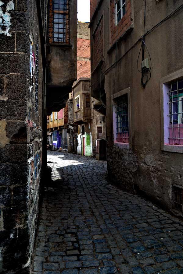 Diyarbakır sokak fotoğrafları - Southeastern Anatolia, photos of Diyarbakir streets