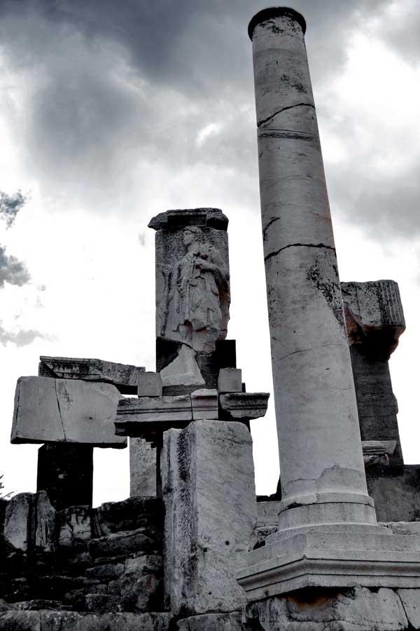 Efes antik kenti Memmius anıtı, Efes fotoğrafları - Memmius monument, Ephesus photos