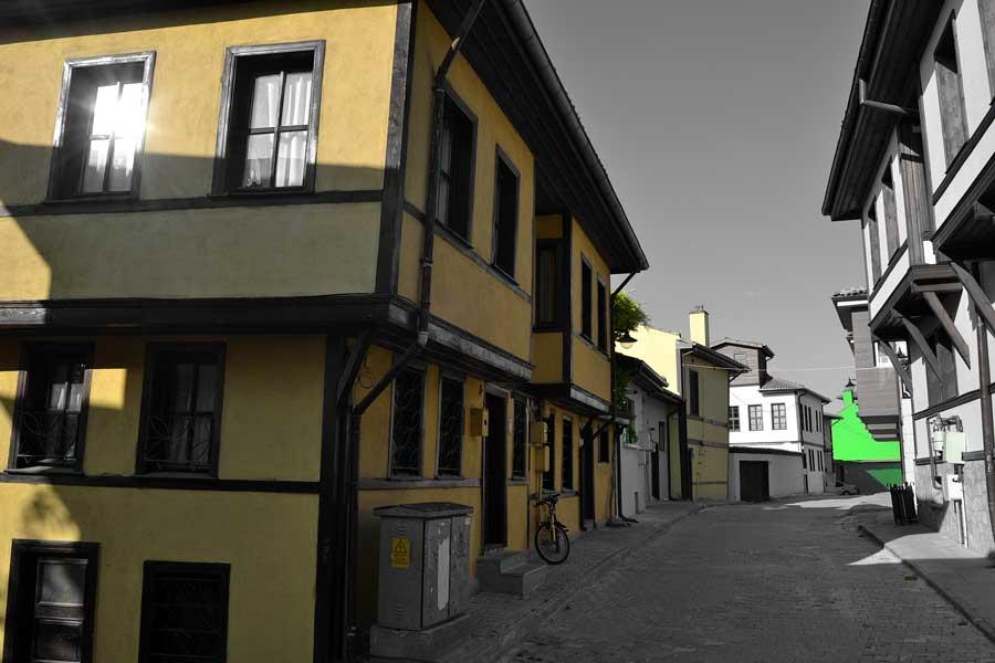 Eskişehir Odunpazarı tarihi evleri fotoğrafları - Central Anatolia Eskisehir Odunpazari historical houses photos