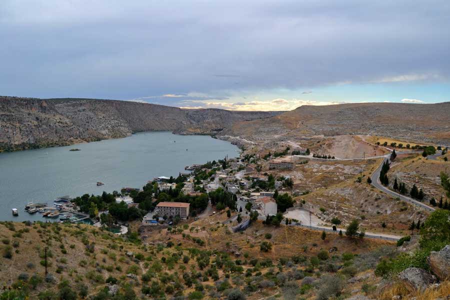 Eski Halfeti fotoğrafları Birecik Barajı Şanlıurfa - Old Halfeti and Birecik Dam, Sanliurfa Southeastern Anatolia