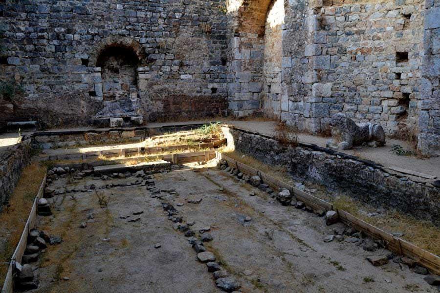 Faustina Hamamı Milet, Milet antik kenti fotoğrafları - Faustina bath, Miletus ancient city photos
