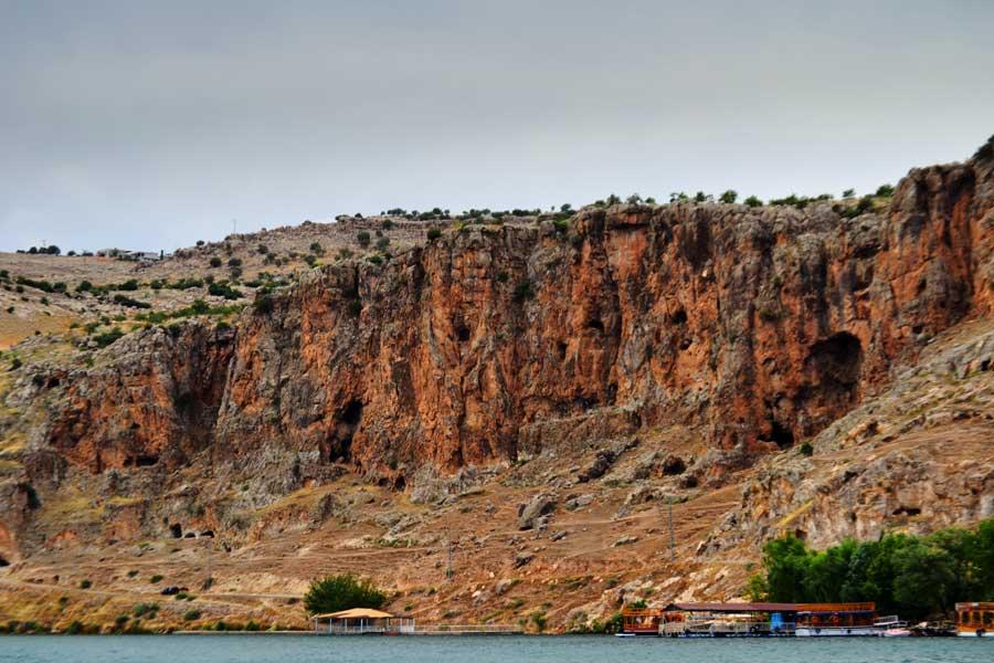Güneydoğu Anadolu Bölgesi Halfeti fotoğrafları Halfeti mağaraları, Şanlıurfa - Halfeti caves Southeastern Anatolia Sanliurfa
