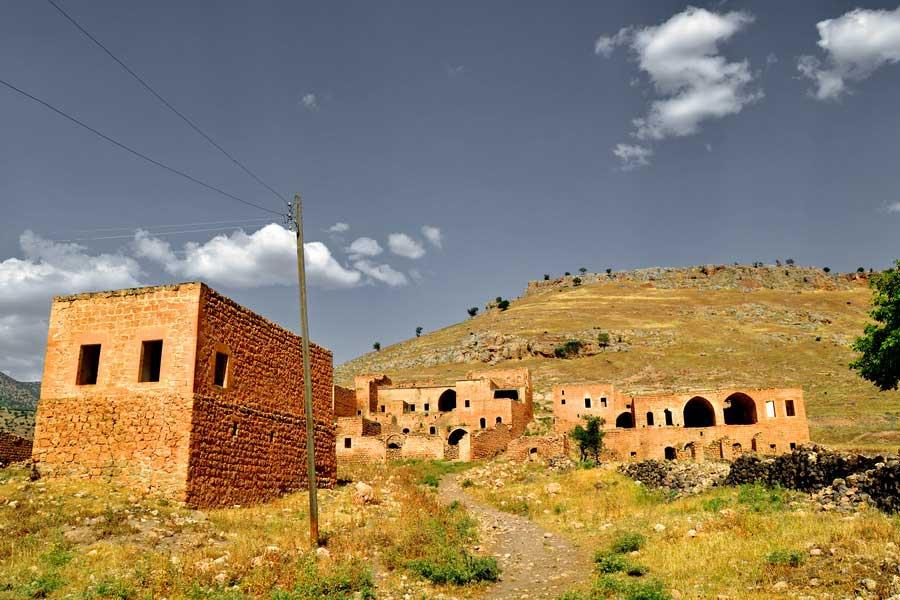 Güneydoğu Anadolu Mardin terk edilmiş köy fotoğrafları - abandoned village in Mardin, Southeastern Anatolia