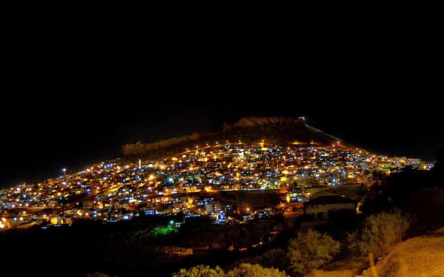 Güneydoğu Mardin gece fotoğrafları - night photos at Mardin