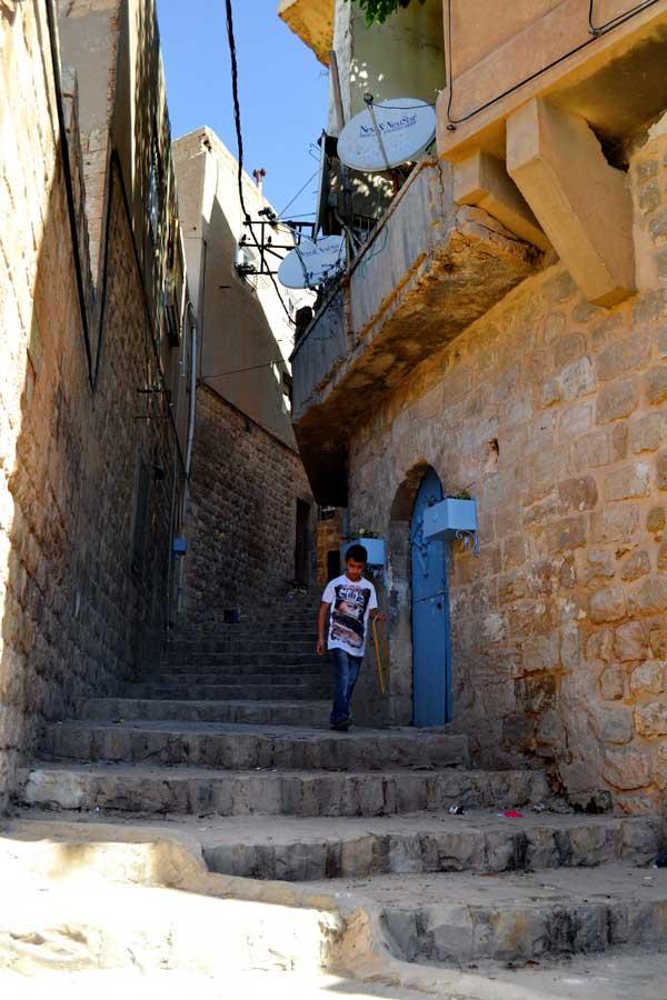 Güneydoğu Mardin taş sokakları, Mardin fotoğrafları - streets of Mardin, Southeastern Anatolia photo