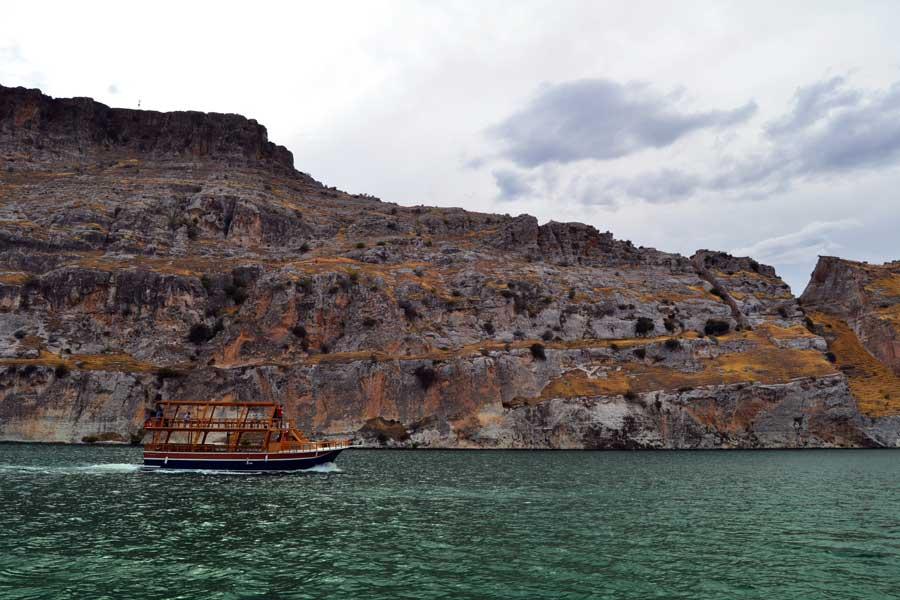 Gaziantep Rumkale fotoğrafları Birecik Barajı - Southeastern Anatolia Birecik Dam and Rumkale Fortress, Turkey