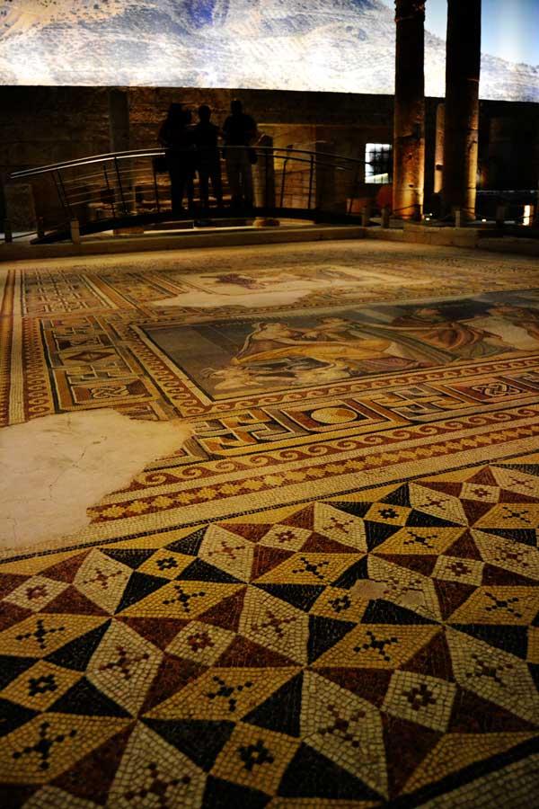 Gaziantep Zeugma Mozaik Müzesi fotoğrafları - Zeugma Mosaic Museum photos Southeastern Anatolia region