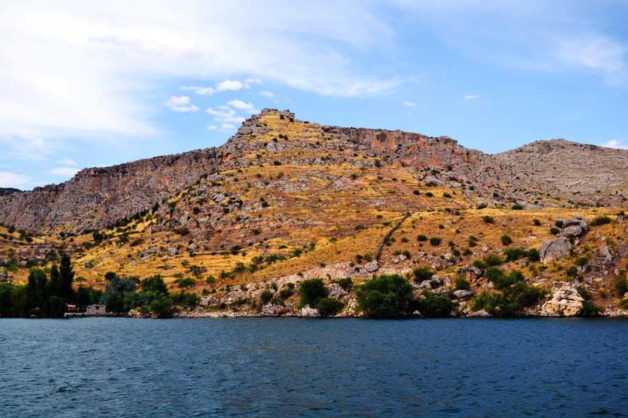 Halfeti fotoğrafları Birecik Barajı Güneydoğu Anadolu Şanlıurfa - Birecik Dam, Sanliurfa