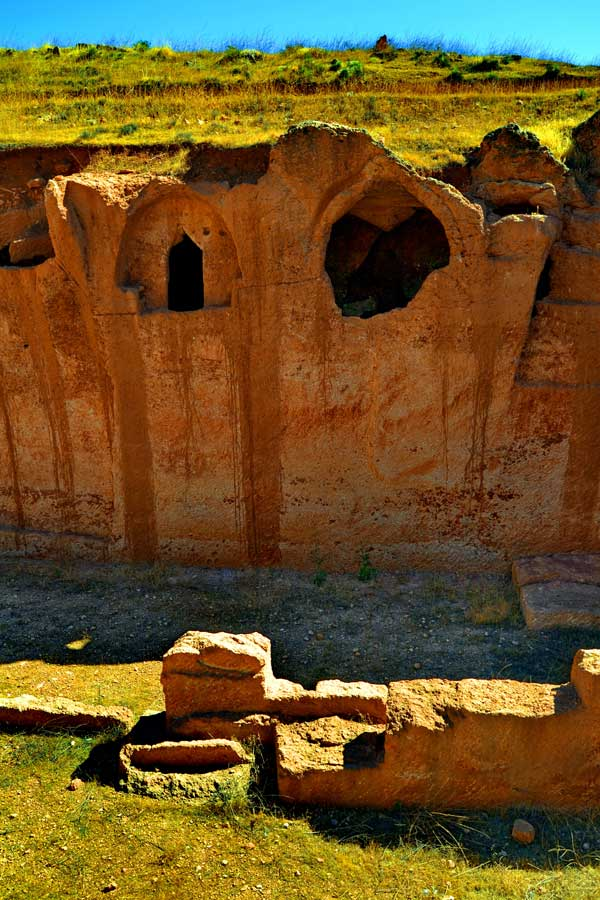 Mardin Dara antik kenti fotoğrafları - Ancient rock settlements, Mesopotamian Ruins of Dara photos, Southeast Anatolia Region Turkey
