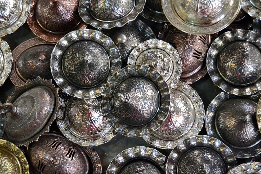 Mardin bakır işi tezgahı fotoğrafları - Southeastern Anatolia coppersmith works, Mardin photos