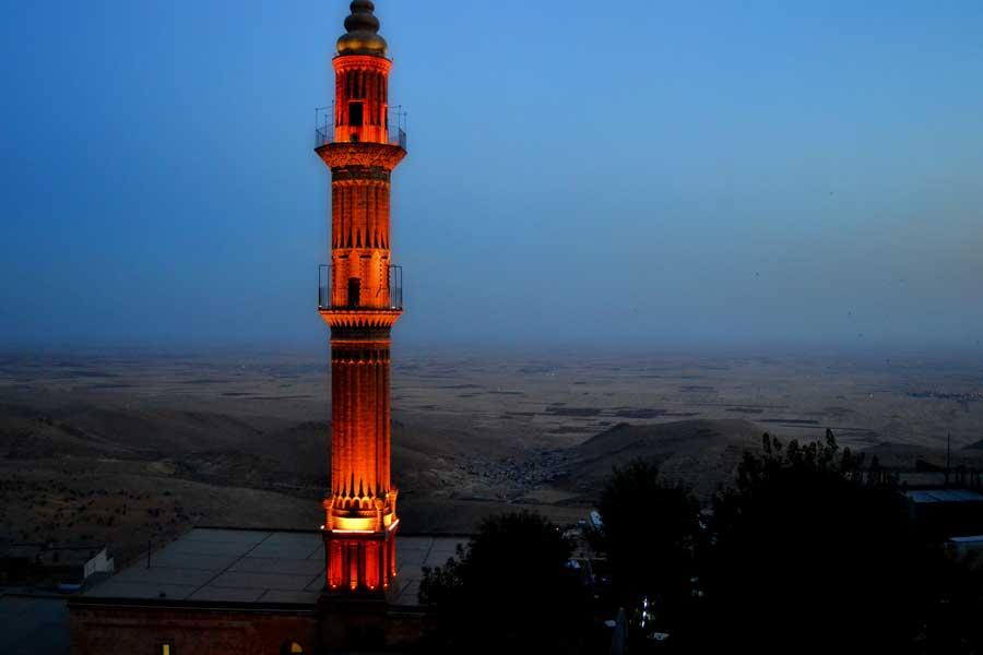 Mardin fotoğrafları Mezopotamya ovasında akşamüzeri - dawn in Mesopotamia plain, Southeastern Anatolia Mardin photos