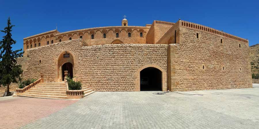 Mardin fotoğrafları, Süryani kilisesinin önemli merkezlerinden olan Deyrulzafaran manastırı - important capital of Syrian Orthodox church, Deyrulzafaran monastery, Mardin photos