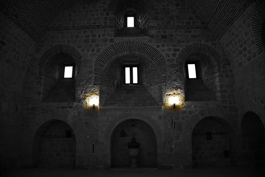 Mor Gabriel Manastırı Büyük Kilise veya Dua Evi, Midyat fotoğrafları Türkiye - Mor Gabriel Monastery Great Church or Prayer House, the photos of Midyat Turkey