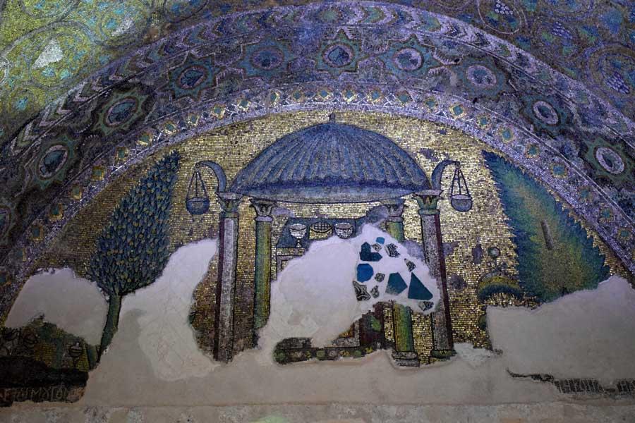 Mor Gabriel Manastırı fotoğrafları Büyük Kilise mozaikleri, Mardin Midyat - Mor Gabriel Monastery Great Church mosaics, Mardin Midyat Turkey