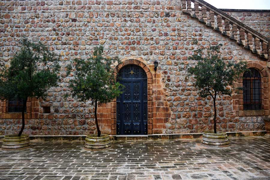 Mor Gabriel Manastırı fotoğrafları Midyat Türkiye - Southeastern Anatolia Mor Gabriel monastery photos Midyat Turkey